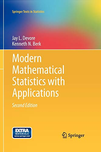 9781461403906: Modern Mathematical Statistics with Applications (Springer Texts in Statistics)