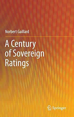 A Century of Sovereign Ratings: Norbert Gaillard