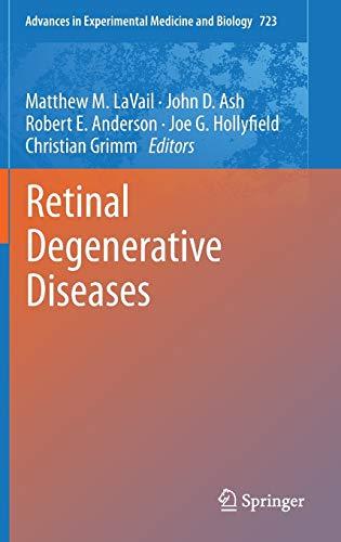Retinal Degenerative Diseases (Hardback)