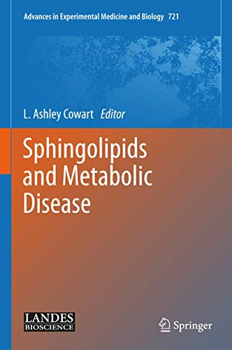 Sphingolipids and Metabolic Disease (Hardcover)