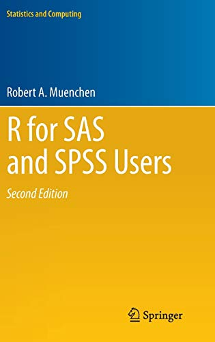 9781461406846: R for SAS and SPSS Users (Statistics and Computing)