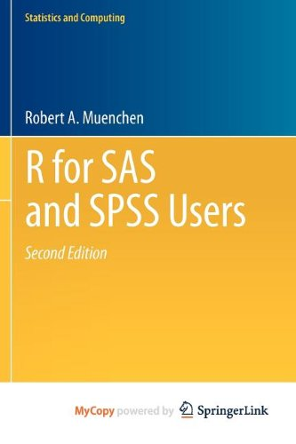 9781461406860: R for SAS and SPSS Users