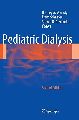 Pediatric Dialysis: BRADLEY A WARADY