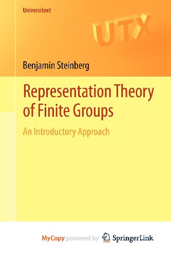 9781461407775: Representation Theory of Finite Groups: An Introductory Approach