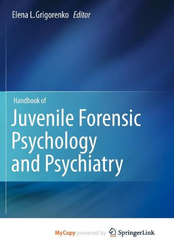 9781461409069: Handbook of Juvenile Forensic Psychology and Psychiatry