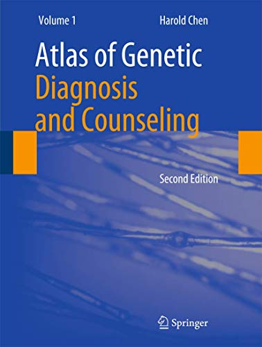 9781461410362: Atlas of Genetic Diagnosis and Counseling