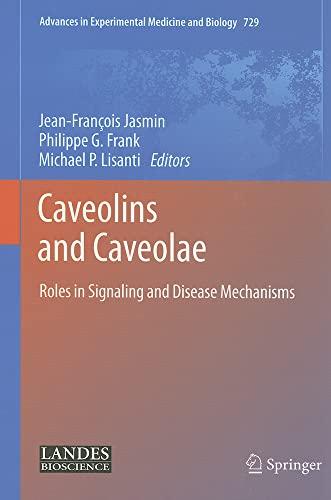 Caveolins and Caveolae: Jean-Francois Jasmin