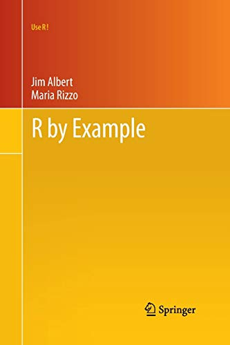 9781461413646: R by Example (Use R!)
