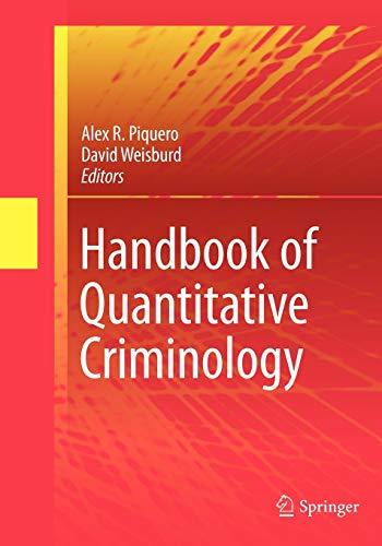 9781461413882: Handbook of Quantitative Criminology