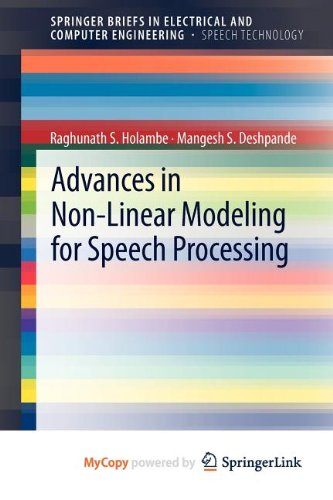 9781461415060: Advances in Non-Linear Modeling for Speech Processing