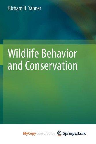 9781461415190: Wildlife Behavior and Conservation