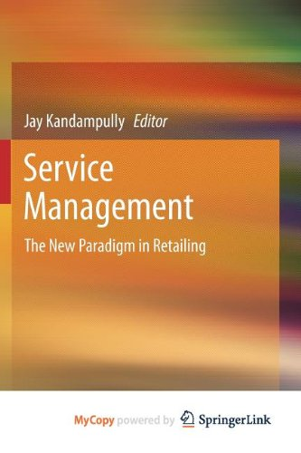 9781461415558: Service Management: The New Paradigm in Retailing