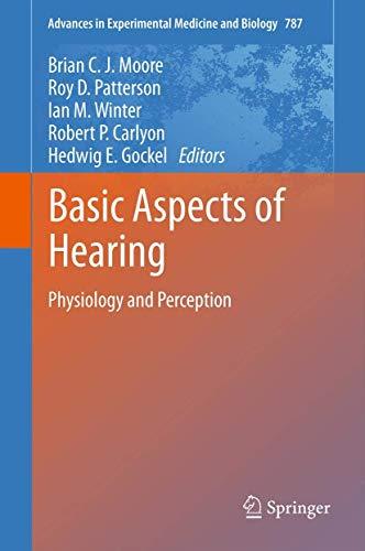 Basic Aspects of Hearing: Brian C. J. Moore