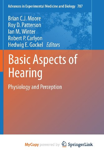 9781461415916: Basic Aspects of Hearing
