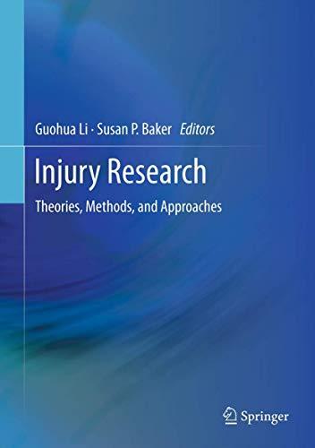Injury Research (Hardback)