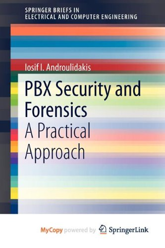 9781461416579: PBX Security and Forensics. A Practical Approach