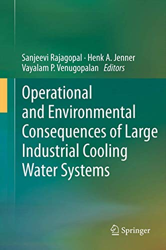 9781461416975: Operational and Environmental Consequences of Large Industrial Cooling Water Systems