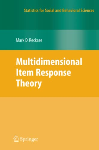 9781461417149: Multidimensional Item Response Theory (Statistics for Social and Behavioral Sciences)