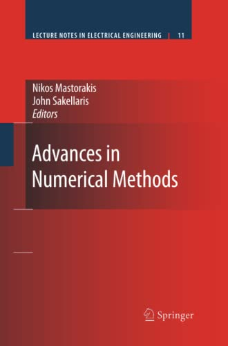 9781461417262: Advances in Numerical Methods (Lecture Notes in Electrical Engineering)