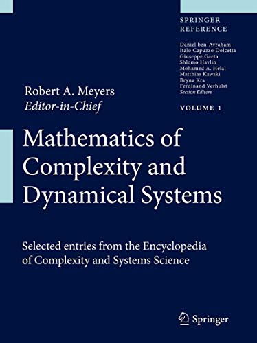 9781461418054: Mathematics of Complexity and Dynamical Systems (Springer Reference)
