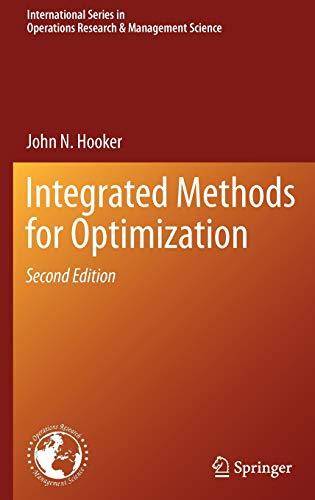 Integrated Methods for Optimization: Elvin Coban