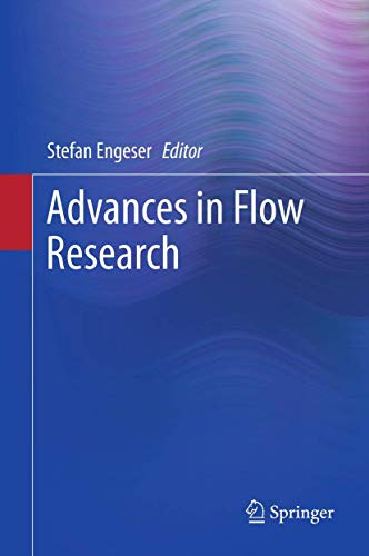 9781461423584: Advances in Flow Research