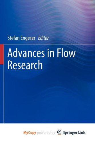 9781461423607: Advances in Flow Research