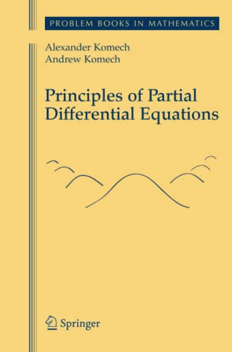 9781461424628: Principles of Partial Differential Equations (Problem Books in Mathematics)