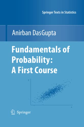 9781461425816: Fundamentals of Probability: A First Course (Springer Texts in Statistics)