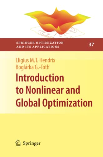 9781461425823: Introduction to Nonlinear and Global Optimization