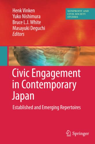 9781461425847: Civic Engagement in Contemporary Japan: Established and Emerging Repertoires (Nonprofit and Civil Society Studies)