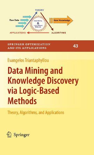 9781461426134: Data Mining and Knowledge Discovery via Logic-Based Methods: Theory, Algorithms, and Applications (Springer Optimization and Its Applications)