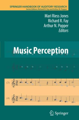 9781461426493: Music Perception (Springer Handbook of Auditory Research)
