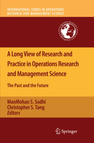 A Long View of Research and Practice: ManMohan S. Sodhi
