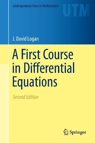 9781461427223: A First Course in Differential Equations