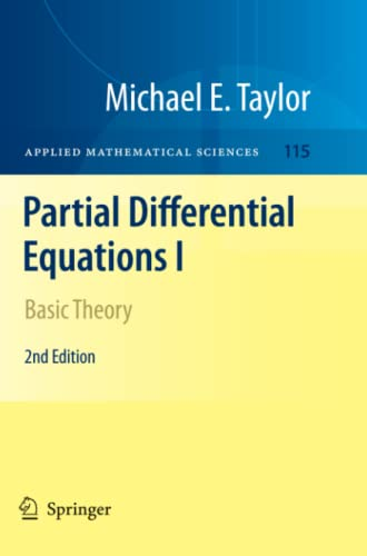 9781461427261: Partial Differential Equations I: Basic Theory (Applied Mathematical Sciences)