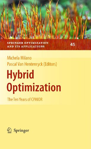 9781461427308: Hybrid Optimization: The Ten Years of CPAIOR (Springer Optimization and Its Applications)