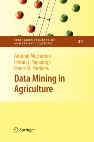 9781461429357: Data Mining in Agriculture (Springer Optimization and Its Applications) (Volume 34)