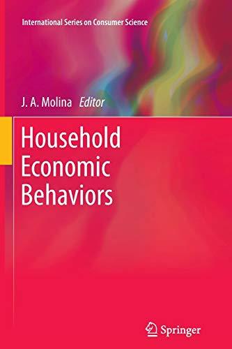 9781461429760: Household Economic Behaviors (International Series on Consumer Science)