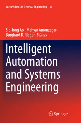9781461429784: Intelligent Automation and Systems Engineering (Lecture Notes in Electrical Engineering)