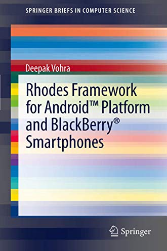 9781461435785: Rhodes Framework for Android™ Platform and BlackBerry® Smartphones (SpringerBriefs in Computer Science)