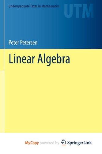 9781461436133: Linear Algebra