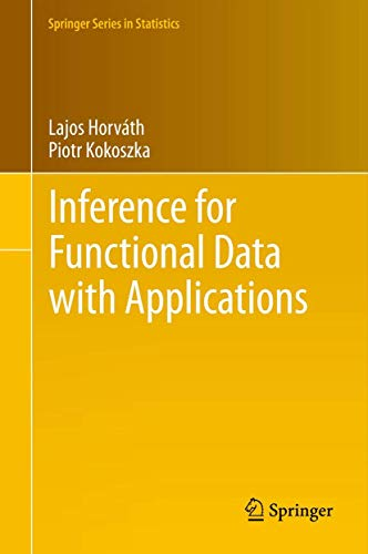 9781461436546: Inference for Functional Data with Applications (Springer Series in Statistics)