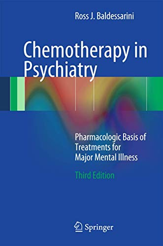 9781461437093: Chemotherapy in Psychiatry: Pharmacologic Basis of Treatments for Major Mental Illness
