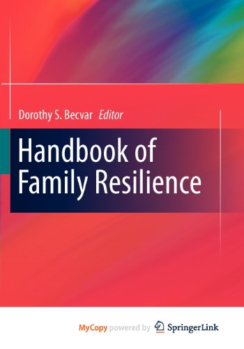 9781461439189: Handbook of Family Resilience