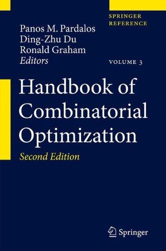 9781461439752: Handbook of Combinatorial Optimization
