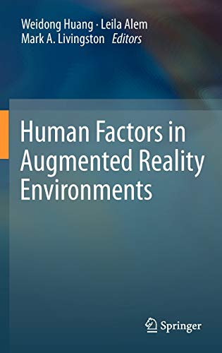 9781461442042: Human Factors in Augmented Reality Environments