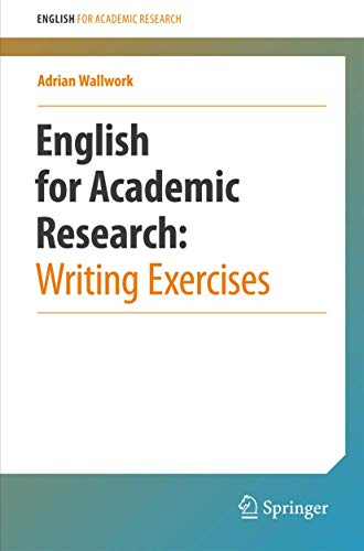 9781461442974: English for Academic Research: Writing Exercises