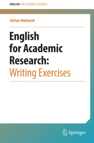 9781461442974: English for Academic Research: Writing Exercises: Writing Exercises