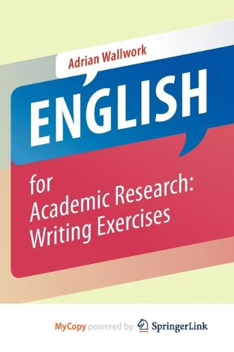 9781461442998: English for Academic Research: Writing Exercises